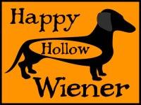 Happy Halloween Wiener Dog