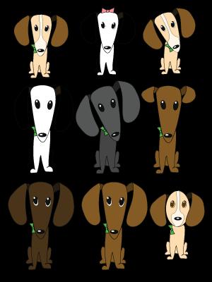 drawings of alien dogs